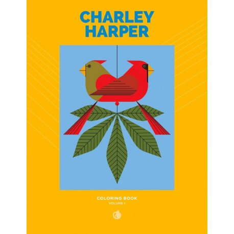 Libro de colorear. Charley Harper: Volume 1 Coloring Book