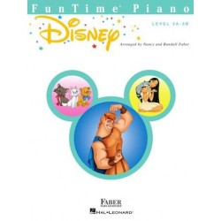 Libro. FUNTIME PIANO DISNEY Level 3A-3B
