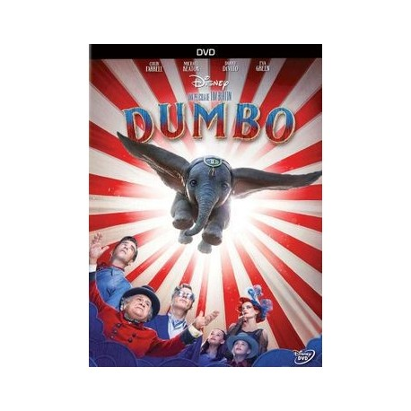 DVD. DUMBO. Tim Burton