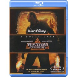 Blu-ray. LA LEYENDA DEL TESORO PERDIDO