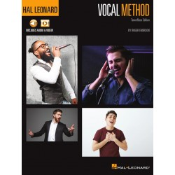 Libro. HAL LEONARD VOCAL METHOD Tenor / Bass Edition (Includes audio & video)