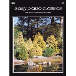 Partituras. Easy Piano Classics. Bastien