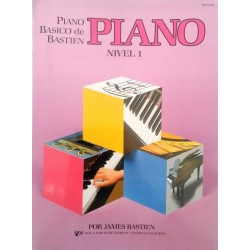Libro. Piano Basico Bastien Nivel 1