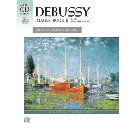 Partitura. Debussy: Images, Book 2