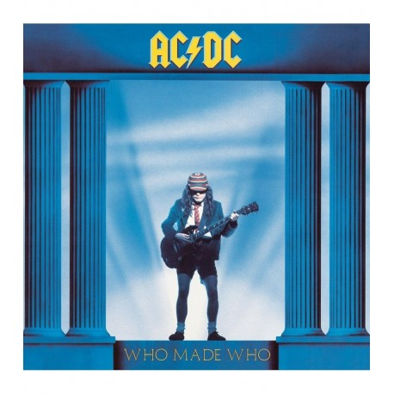 Vinilo. AC/DC Who made who