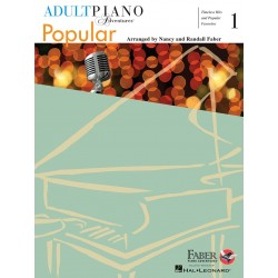 Libro. ADULT PIANO ADVENTURES POPULAR BOOK 1