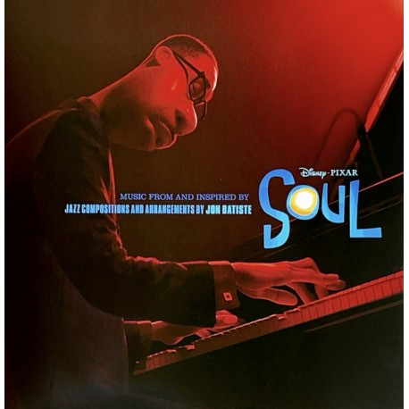 Vinilo. MUSIC FROM AND INSPIRED BY DISNEY PIXAR'S SOUL