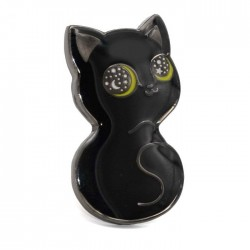 Pin. BLACK CAT STARRY by Compoco