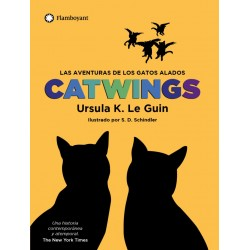 Libro . Las aventuras de los gatos alados - CATWINGS