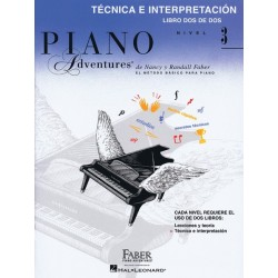 PIANO ADVENTURES. NIVEL 3. Técnica e interpretación