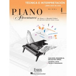 PIANO ADVENTURES. NIVEL 4. Técnica e interpretación