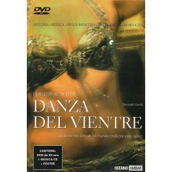 DVD - DANZA DEL VIENTRE (DVD + MÚSICA CD + PÓSTER)