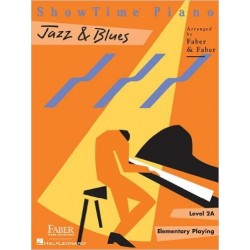 Libro. SHOWTIME PIANO JAZZ & BLUES - LEVEL 2A - ELEMENTARY PRAYING