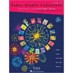 FABER STUDIO COLLECTION - SELECTIONS FROM PLAYTIME PIANO - LEVEL 1