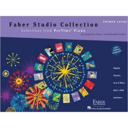 FABER STUDIO COLLECTION - SELECTIONS FROM PRETIME PIANO - PRIMER LEVEL