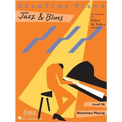 Libro. PRETIME PIANO JAZZ & BLUES - PRIMER LEVEL - BEGINING READING