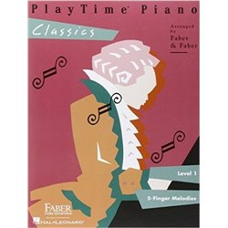 PRETIME PIANO POPULAR - PRIMER LEVEL - BEGINING READING