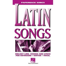 LATIN SONGS - PAPERBACK SONGS