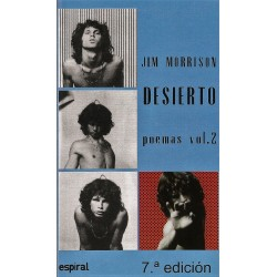 Libro. JIM MORRISON POEMAS II -VOL 2