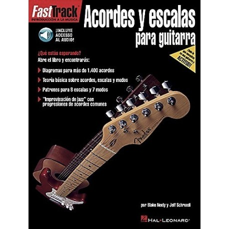 ACORDES Y ESCALAS PARA GUITARRA - FASTTRACK (INCLUYE ACCESO A AUDIO)
