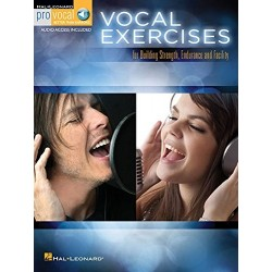 Libro. VOCAL EXERCISES - FOR BUILDING STRENGTH, ENDURANCE AND FACILITY