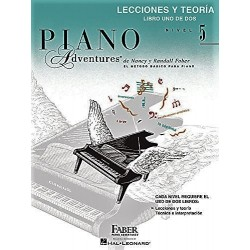 PIANO ADVENTURES. NIVEL 5. LIBRO UNO DE DOS