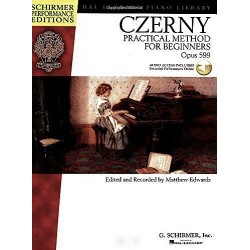 CZERNY - PRACTICAL METHOD FOR BEGINNERS OPUS 599 (AUDIO ACCESS INCLUDED RECORDED PERFORMANCES ONLINE