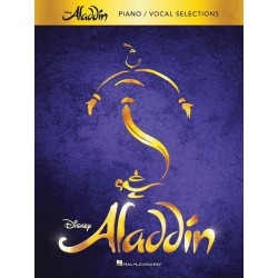 Partitura. ALADDIN - BROADWAY MUSICAL (PIANO - VOCAL SELECTIONS)