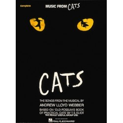 Partituras. CATS - MUSIC FROM CATS (PIANO - VOCAL)