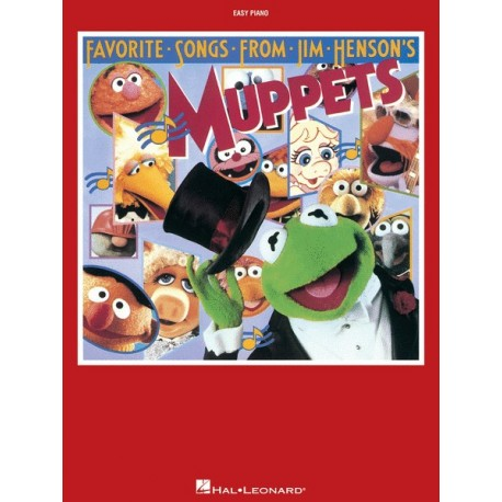 FAVORITE SONGS FROM JIM HENSON'S MUPPETS (EASY PIANO)