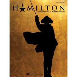 Partitura. HAMILTON (VOCAL SELECTIONS)