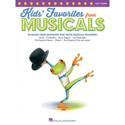 KIDS' FAVORITES FROM MUSICALS (EASY PIANO)