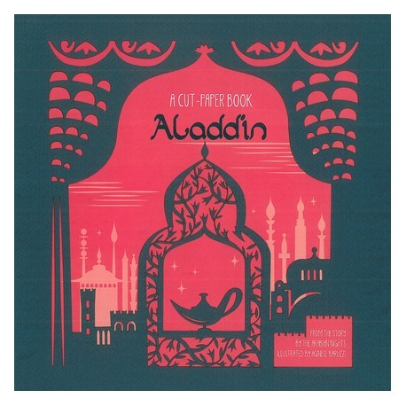 ALADDIN - A CUT-PAPER BOOK