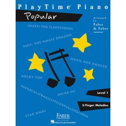 Libro. PLAYTIME POPULAR - LEVEL 1 (PLAYTIME PIANO) - 5-FINGER MELODIES