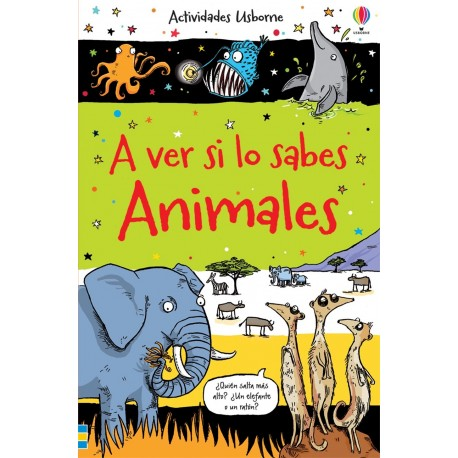 A VER SI LO SABES - ANIMALES