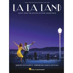 Partitura. LA LA LAND: MUSIC FROM THE MOTION PICTURE SOUNDTRACK (EASY GUITAR WITH NOTES AND TAB)