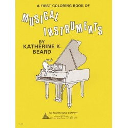 A FIRST COLORING BOOK MUSICAL INSTRUMENTS