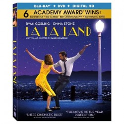 Blu-ray + DVD. LA LA LAND