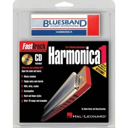 Harmónica Hohner BLUESBAND con método Fast Track