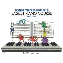 JOHN THOMPSON'S EASIEST PIANO COURSE PART TWO - CD INCLUDED