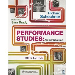 Libro. PERFORMANCE STUDIES: An introduction. Third Edition