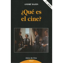 Libro. ¿QUÉ ES EL CINE?