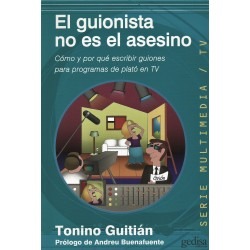 Libro. EL GUIONISTA NO ES EL ASESINO