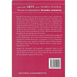 Libro. EL ÚLTIMO STANISLAVSKY