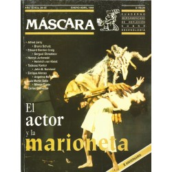 REVISTA MÁSCARA No. 26-30 - EL ACTOR Y LA MARIONETA