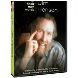 DVD. IN THEIR OWN WORDS - JIM HENSON
