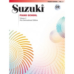 SUZUKI PIANO SCHOOL VOLUME 2 - NEW INTERNATIONAL EDITION (INCLUDED CD)