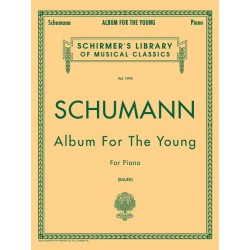 SCHUMANN - ALBUM FOR THE YOUNG FOR PIANO