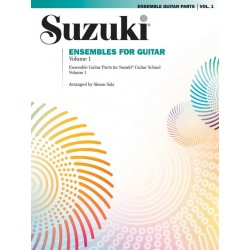 SUZUKI ENSEMBLES FOR GUITAR - VOLUME 1