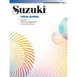 SUZUKI VIOLIN SCHOOL - VOLUME 3